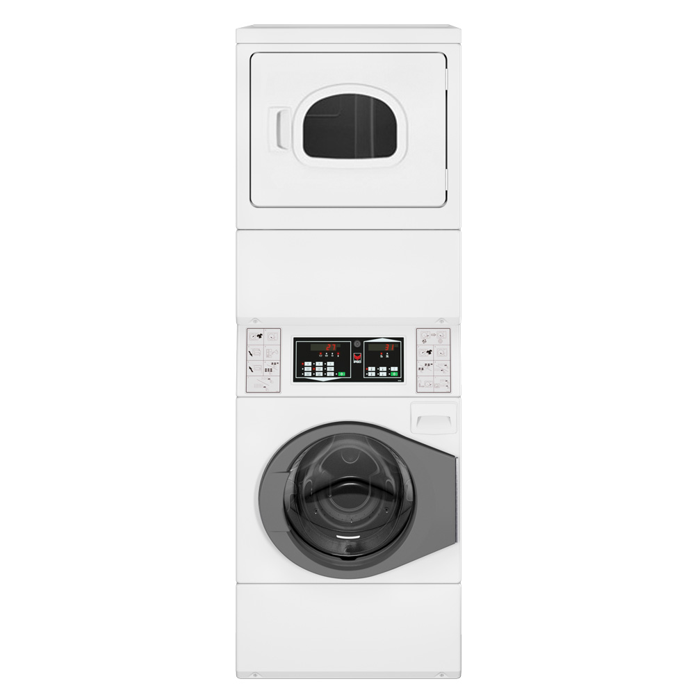 ipso cs10 stacked washer dryer commercial washing machines and dryers. Black Bedroom Furniture Sets. Home Design Ideas